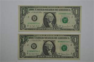 Consecutively Serial Numbered Partial Offset Error Pair