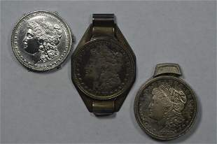 A Trio of Interesting Coin-related Accoutrements