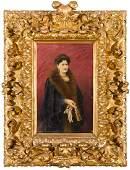 RICARDO LÓPEZ CABRERA Retrato de Dña, Josefa