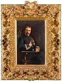 RICARDO LÓPEZ CABRERA Retrato de D. Saturnino