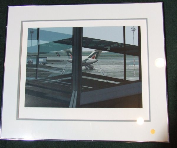 17: Richard Estes signed and numbered screenprint of an