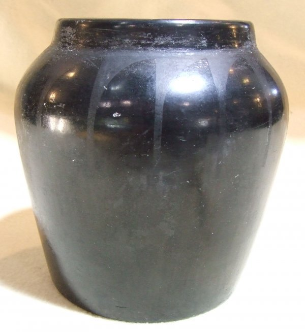 24: San Ildefonso pottery vase by desideria black on bl
