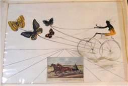 56: Salvador Dali Pencil signed and #ed 232/250 lithogr