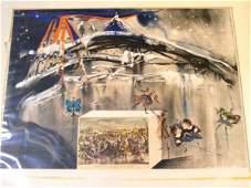 57 Salvador Dali pencil signed and ed 218250 lithogr