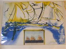 Salvador Dali pencil signed and #ed 94/250 lithogra