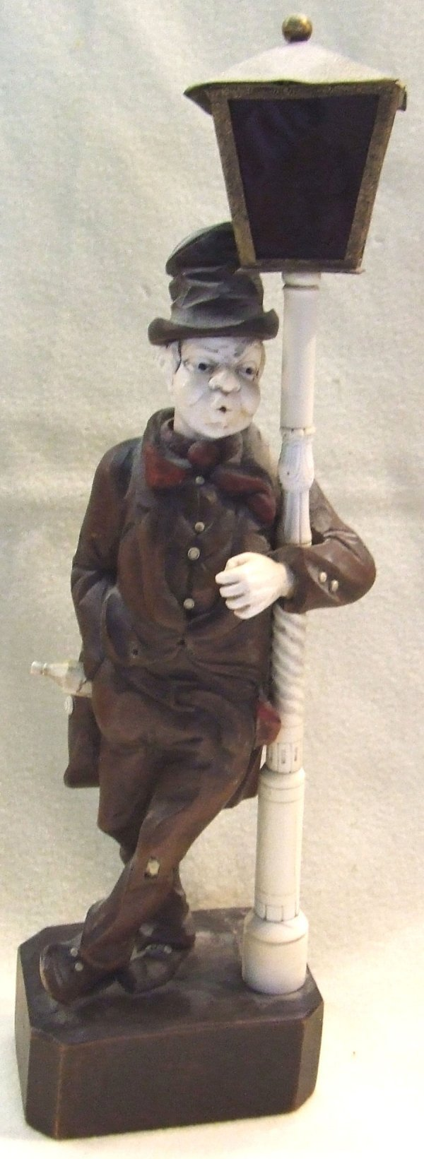 263: German Automaton figure of a whistling man holding