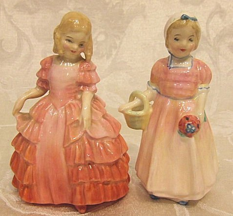 410: Royal Doulton figurines, Rose 1368 & Tinkle Bell 1