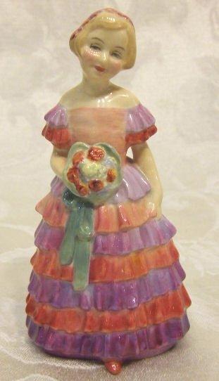 "411: Royal Doulton figurine, ""The Little Bridesmaid"" 5."