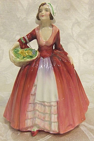 """418: Royal Doulton figurine """"Janet"""" 1537, excellent con"""