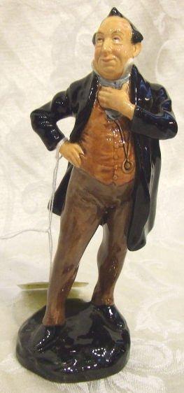 "419: Royal Doulton figurine ""Pecksniff"" 2098, 7.75""H."