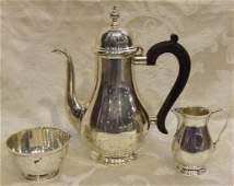451 Tiffany  Co sterling silver tea set  creamer s