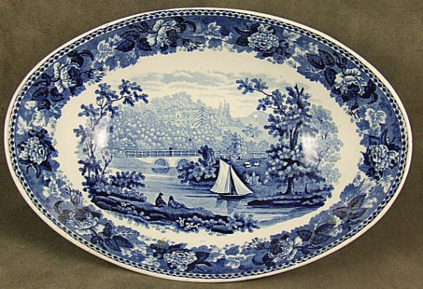 2: Wedgwood romantic Staffordshire oval open vegetable