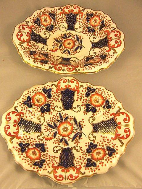 88: 2 Copeland & Garrett Late Spode Felspar Porcelain s