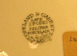 88: 2 Copeland & Garrett Late Spode Felspar Porcelain s - 4