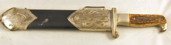 239: German WW II Nazi RAD Labor Corps dagger with Eick