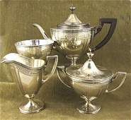 147 Tiffany  Co Makers sterling silver 4 piece tease