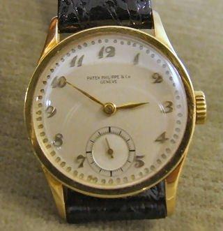 16: 18k yellow gold Patek Philippe & Co Geneve, men's w