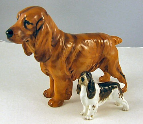 9: Royal Doulton & Royal Worcester dogs, Doulton # 1187