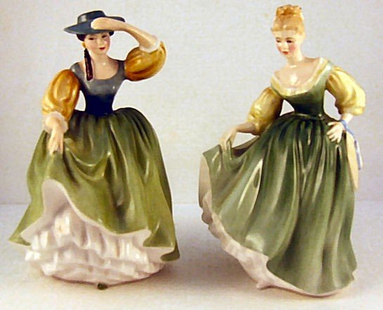19: 2 Royal Doulton figurines, Buttercup HN 2309 & Fair