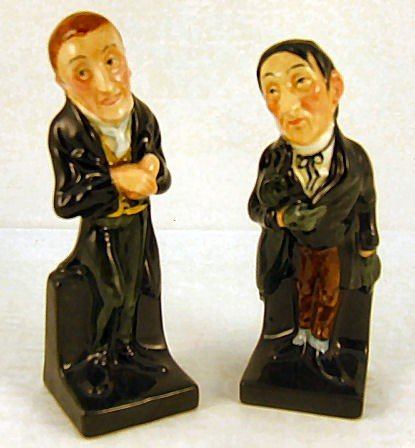 20: 2 Royal Doulton Dickens figurines, Stiggins & Uriah