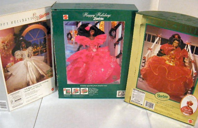 3: Barbie Happy Holidays Special Edition 1988, mint in