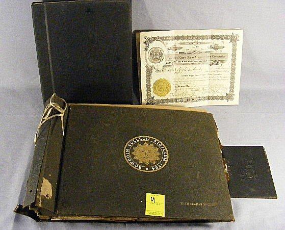 22U: Large Bowdoin College scrapbook, mostly 1919-1920'