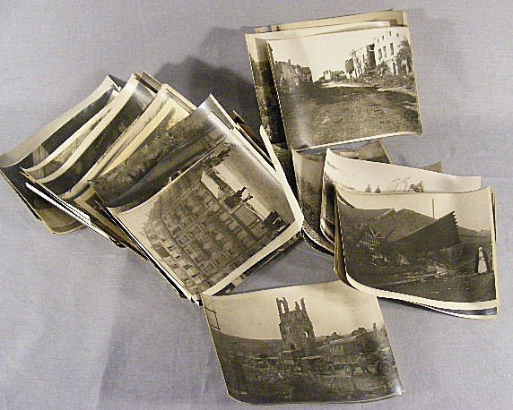 23U: Lot of approx. 45 WWI photos, period reproduced, e