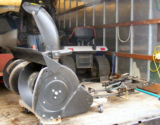 Craftsman Snowblower Attachment : Craftsman snow blower attachment model