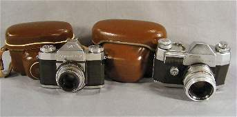 53P Estate Zeiss Ikon Contaflex  Edixa 35mm cameras
