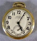 103P: Hamilton 23 jewel Railway Special pocket watch, 1