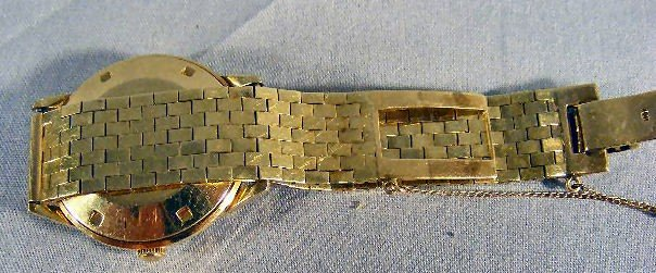 137X: 14K gold LeCoultre Master Mariner Automatic wrist - 3