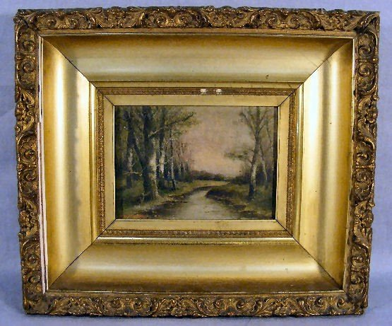 19E: Oil painting on artist board signed G. MacCarthy,