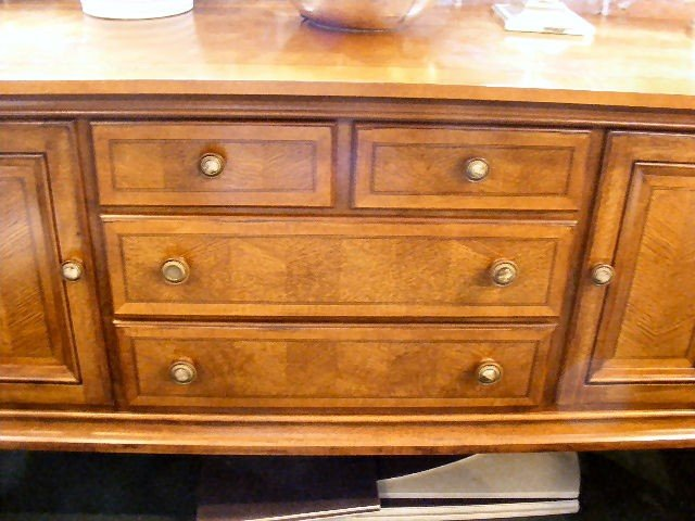 17H: Alexander Julian inlaid sideboard, four drawers, 6 - 2