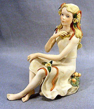 21A: Cybis figurine, Melody, dated 1981, #335 Excellent