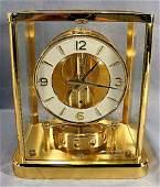 66Q: Jaeger-Le Coultre Atmos clock w/ original box & pa