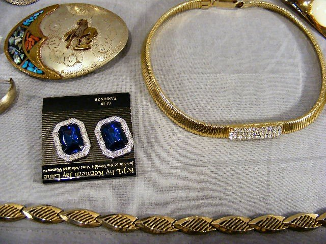 180O: Jewelry, costume, Mack Truck bulldog items, neckl - 4