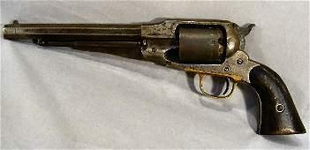 "191W: Remington Civil War revolver marked ""Patented Sep"