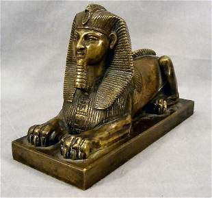Late 19th or early 20th century bronze figure of th