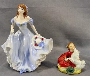 """Royal Doulton figurine """"Home Again"""" HN 2167 and Co"""