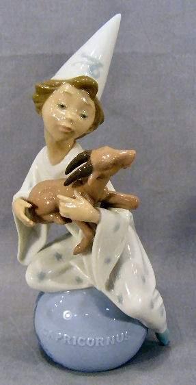 "Lladro Capricornus figurine, 9"" high"