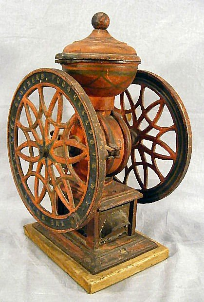 28A: Coffee grinder - Lane Brothers Swift Mill, Poughke