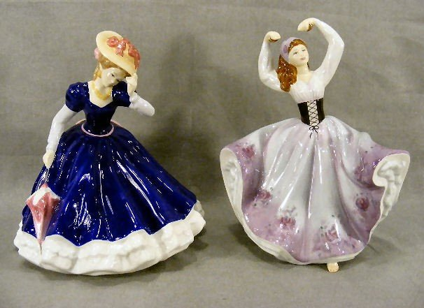 5E: Two Royal Doulton figurines, Mary HN4802 and Gabrie