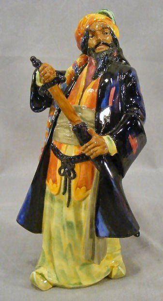 "23K: Royal Doulton figurine HN 2105, 10"" high, excellen"