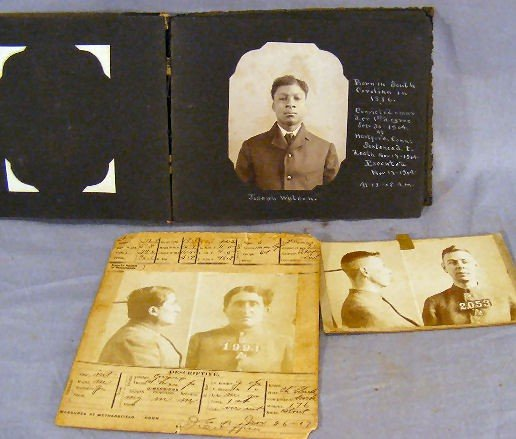 118H: Album of photos of inmates executed at Connecticu