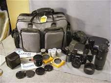 272H: Minolta 7000 camera w/ AF Lens #28, #50 and #70-2