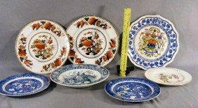 10B: Lot of plates including Mason's Canada, Doulton nu