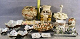 Lot Of Misc. China Including Biscuit Jar As Is, Nu