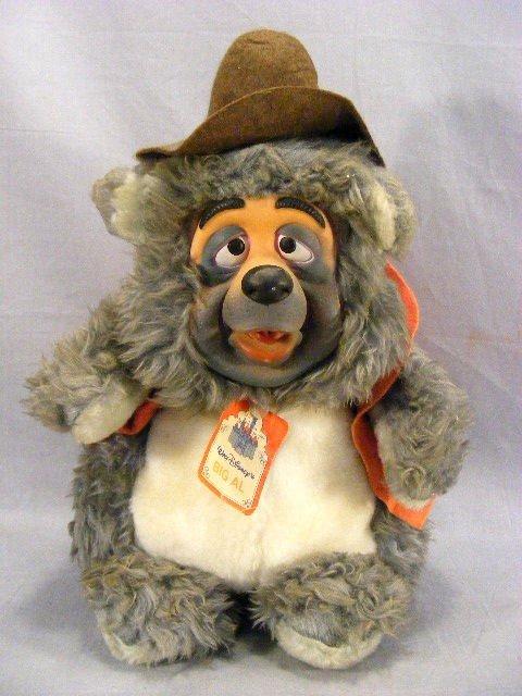 225M: Walt Disney Big Al stuffed animal, Disneyland & W