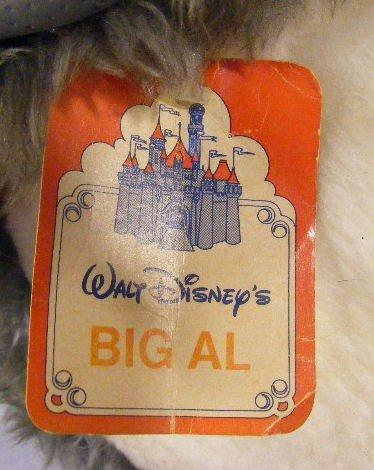 225M: Walt Disney Big Al stuffed animal, Disneyland & W - 2