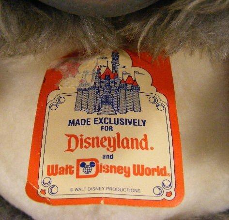 225M: Walt Disney Big Al stuffed animal, Disneyland & W - 3